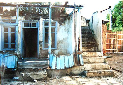 نمای منزل میرزا کوچک خان قبل از بازسازی